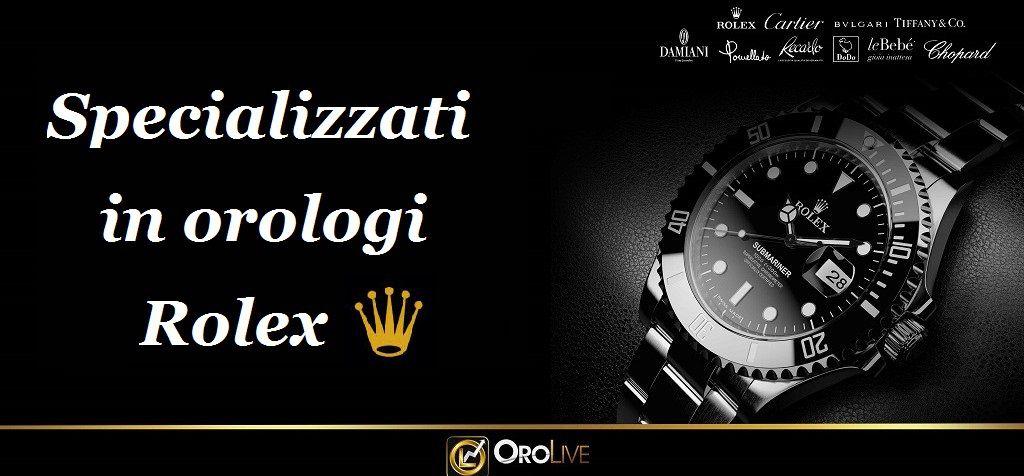 Orolive compro orologi Roma specializzato nell'acquisto di Rolex