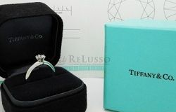 anello solitario Tiffany Setting platino