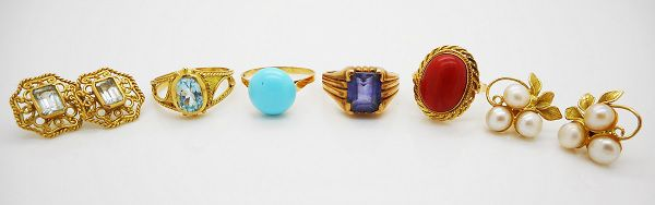 Esempi di gioielli vintage difficilmente rivendibili