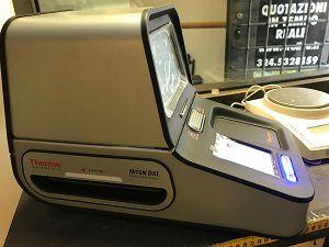 compro oro roma con lo spettrometro xray in sede